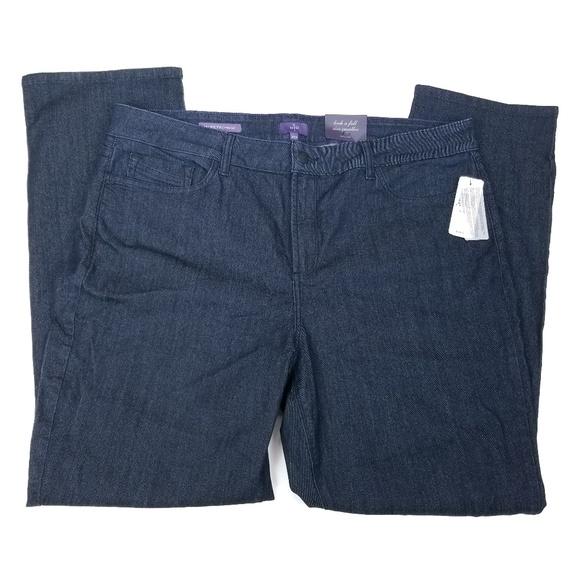 NYDJ Denim - NYDJ Jeans Straight Lift Tuck Technology 20W